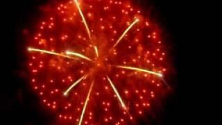 preview picture of video 'prima parte fuochi d'artificio  bova marina'