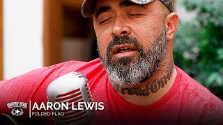 Aaron Lewis - Folded Flag (Acoustic) -- Country Rebel HQ Session