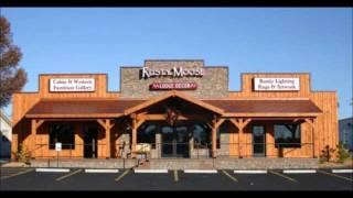 Rusty Moose Lodge Decor-Welcome