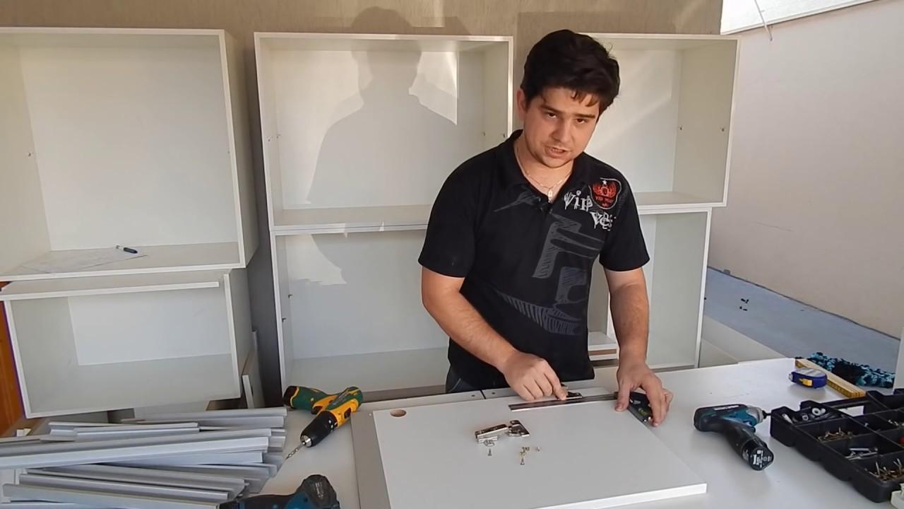 Como Colocar Portas em Armário de Cozinha Sob Medida