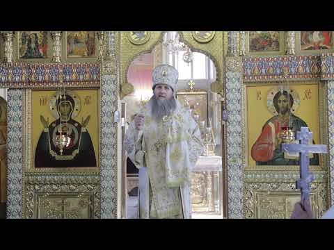 Проповедь митрополита Курганского и Белозерского Даниила на Литургии в Лазареву Субботу