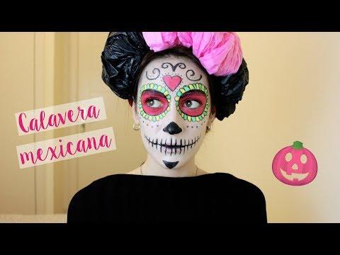 Disfraz de Calavera Mexicana para Halloween