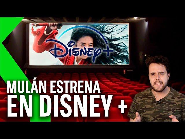 DISNEY se salta los cines y estrena MULAN en DISNEY+ y ¡OJO! No te va a salir barato