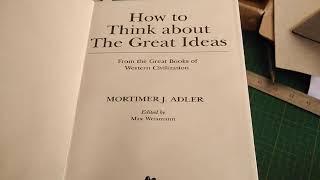 "Confecção de ""How to Think about The Great Ideas"", de Mortimer J. Adler, a partir de PDF"