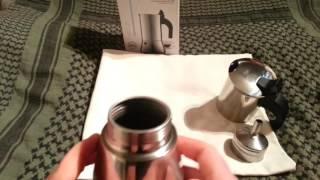 Bialetti 'Venus' 2Tassen Edelstahl Espresso Kocher