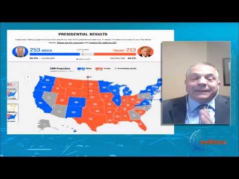 Λεωνίδας Ραπτάκης | θρίλερ με τις Αμερικανικές εκλογές  | 5/11/20 | ΕΡΤ