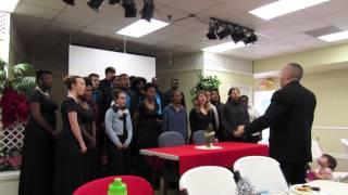 2015 Woodside High School, Chorus, Olive Branch, As Joseph Was A Walking