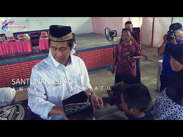 Santunan Anak Yatim Piatu & Janda Jompo Di Kecamatan Toili