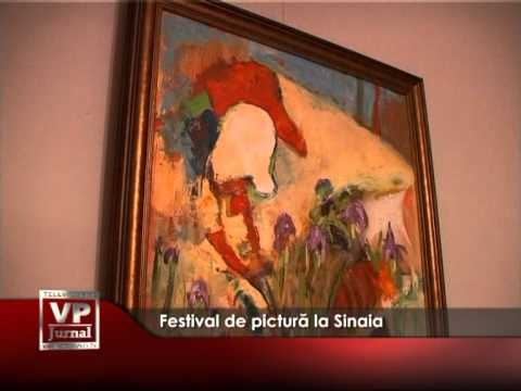 Festival de pictură la Sinaia