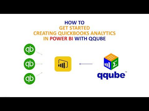 Creating Quickbooks analytics in Power BI using QQube
