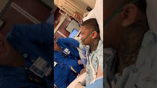 Yella Beezy Watches His BET Awards Performance From Hospital Bed