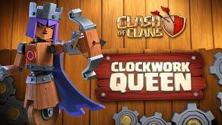 Clash of Clans: Clockwork Queen (June Season Challenges)