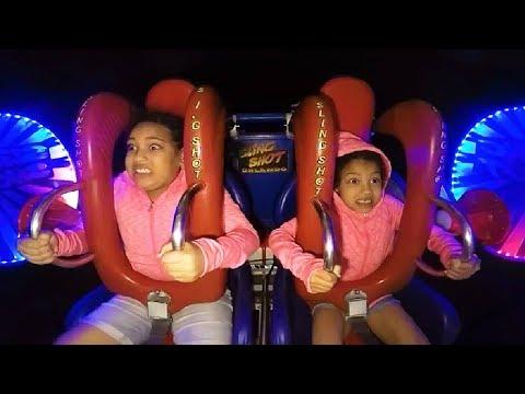 Kids - Sisters | Funny Slingshot Ride Compilation