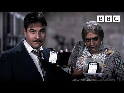 Good cop - Indian mum cop | Walliams & Friend - BBC