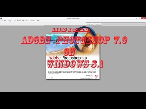 #14-How to Install adobe photoshop 7.0  in Windows 8.1  step by step