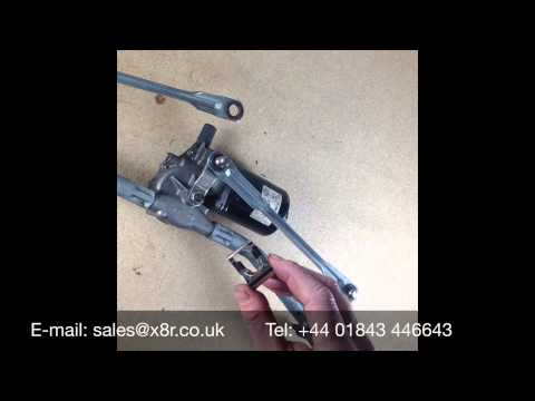 Wiper linkage clip repair video