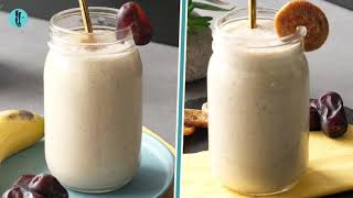Healthy Date Shakes 2 Ways By Healthy Fusion