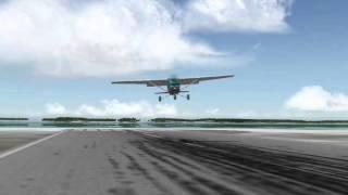 Landing The Cessna 152 Video