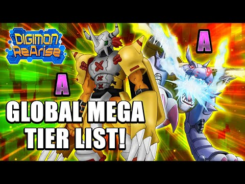Digimon ReArise | Mega Tier List (Read Pinned Comment)