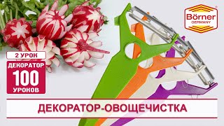 """Чистка-декоратор """"5 в 1"""" от Borner Бернер"""
