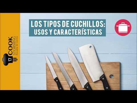 Los Tipos de Cuchillos en Cocina