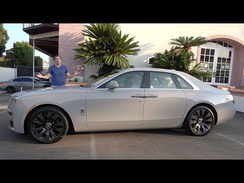The New 2021 Rolls-Royce Ghost Is the Latest $350,000 Ultra-Luxury Sedan