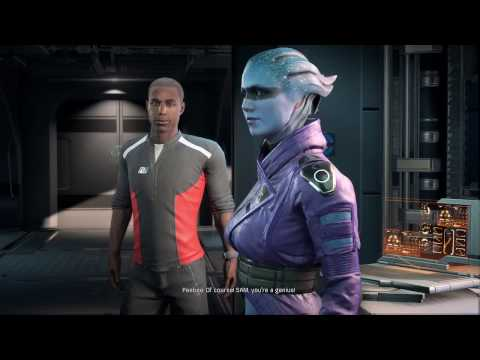 Mass Effect Andromeda: Peebee Sex Scene,