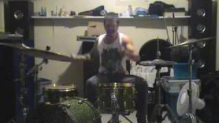 Everytime I Die The Marvelous Slut drum cover
