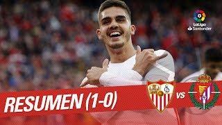 Resumen De Sevilla FC Vs Real Valladolid (1-0)