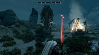 Skyrim best sword mod flaming sword