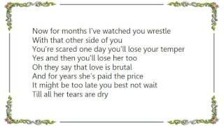 Chely Wright - Till All Her Tears Are Dry Lyrics