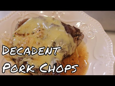 Inspired French Onion Pork Chops With Linda's Pantry