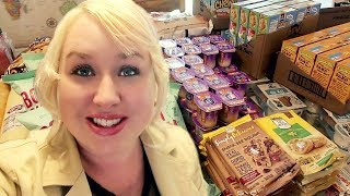 UNBELIEVABLE 😍LARGE FAMILY GROCERIES | Sharp Shopper Discount Grocery Haul 🛒