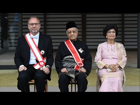 Prime Minister conferred Japan's Highest Award