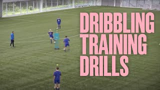 Dribbling Training Drills | Football Coaching | What It Takes