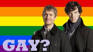 Are They Gay? - Sherlock Holmes And John Watson (Johnlock)