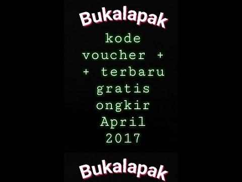 Video Bukalapak, kode voucher ++ gratis ongkir terbaru 2017