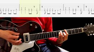 """Video thumbnail of """"Guitar TAB : Twist And Shout (Lead Guitar) - The Beatles"""""""