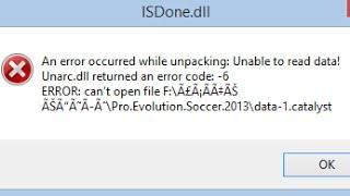 unarc dll returned an error code 11 - मुफ्त