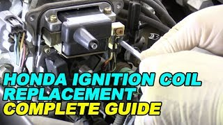 Honda Ignition Coil Replacement (Complete Guide)