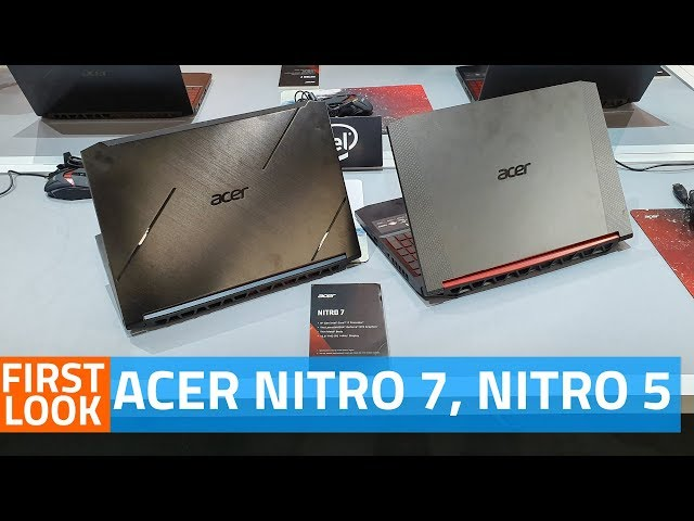 Acer Nitro 7 Slim Gaming Laptop Launched, Nitro 5 Series for