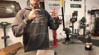 bending metal to a radius