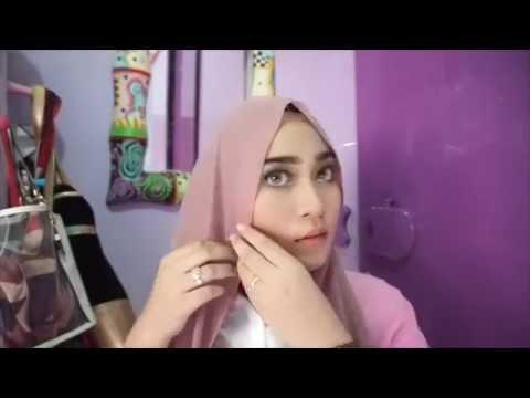 Video tutorial hijab simple idul fitri | Flabinardh