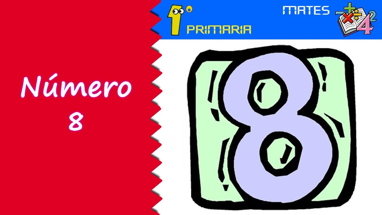 Matemáticas. 1º Primaria. Tema 1: Número 8