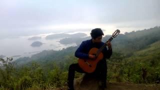 preview picture of video 'Bukit Batas (Clasical Guitar Banjarmasin) Afgan - Jodoh Pasti Bertemu'
