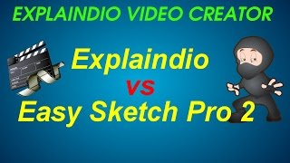 Explaindio Video Creator vs Easy Sketch Pro 2 - Whiteboard Doodle Video Creators