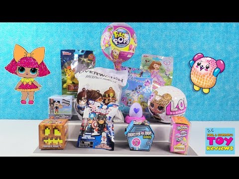 Disney Hatchimals CollEGGtibles Shopkins LOL Surprise Doll Toy Review | PSToyReviews