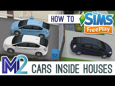 Sims FreePlay - Multiple Cars Inside Houses (Tutorial)