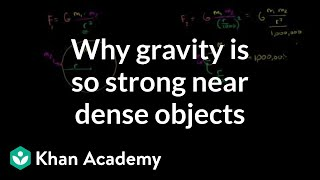 Why Gravity Gets So Strong Near Dense Objects