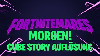 MORGEN CUBE STORY AUFLÖSUNG & HALLOWEEN EVENT | Fortnite Battle Royale